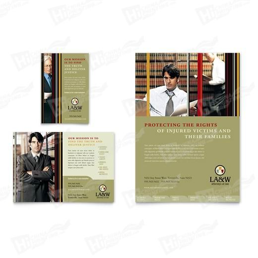 Lawyer & Law Firm Flyers Printing