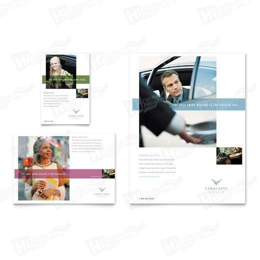 Limousine Service Flyers Printing