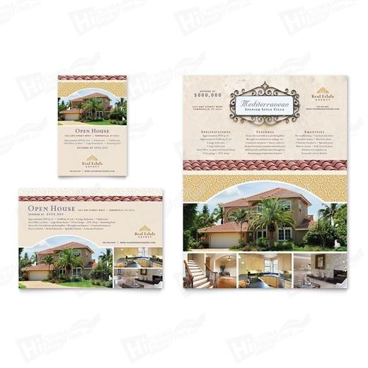 Luxury Real Estate Flyers Printing