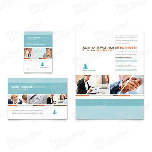 Management Consulting Flyers Printing