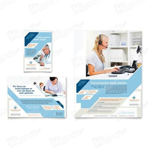 Medical Transcription Flyers Printing