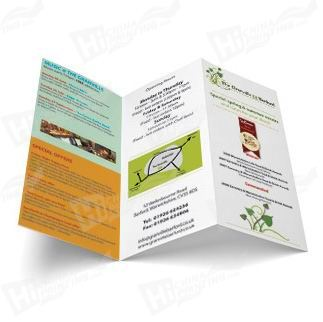 Printed Colorful Flyers