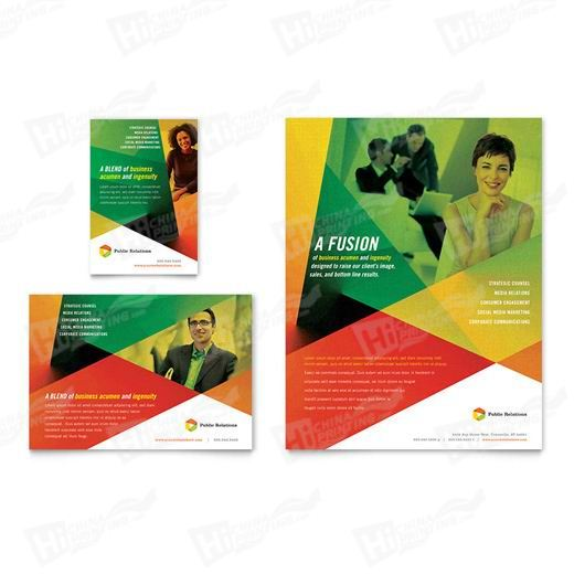 Public Relations Company Flyers Printing
