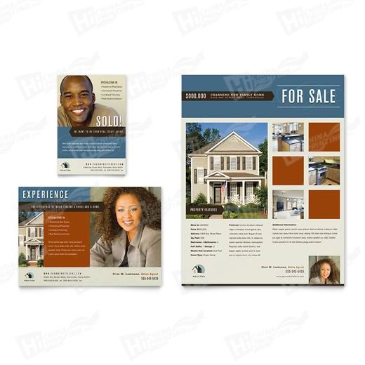 Real Estate Agent & Realtor Flyers Printing