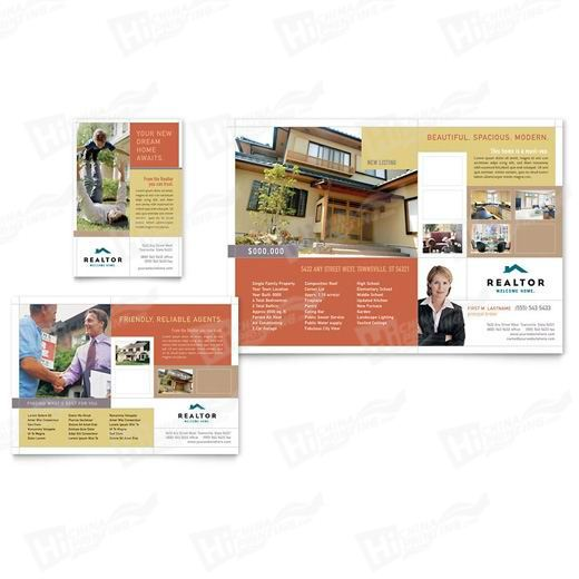 Realtor & Real Estate Agency Flyers Printing