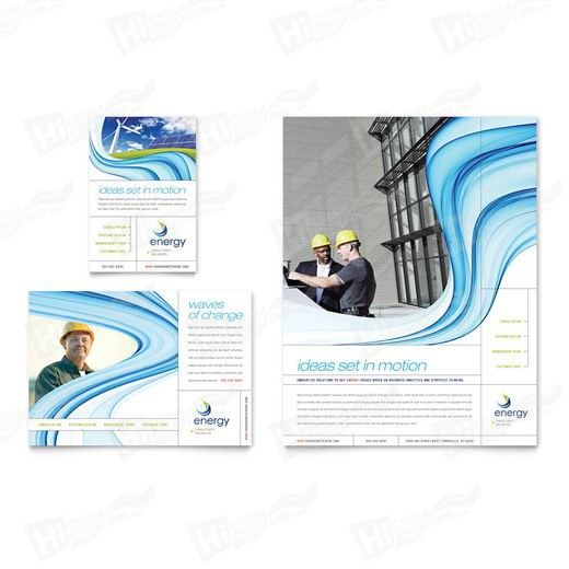 Renewable Energy Consulting Flyers Printing