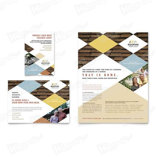 Roofing Contractor Flyers Printing