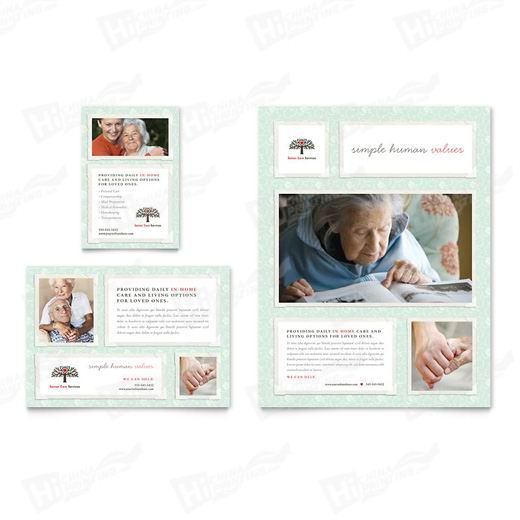 Senior Care Services Flyers Printing