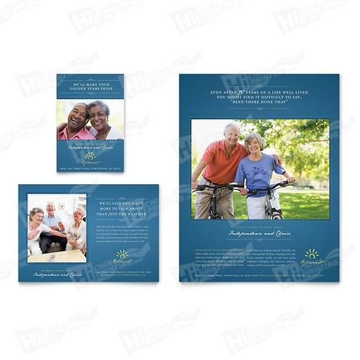 Senior Living Community Flyers Printing