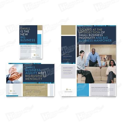Small Business Consulting Flyers Printing