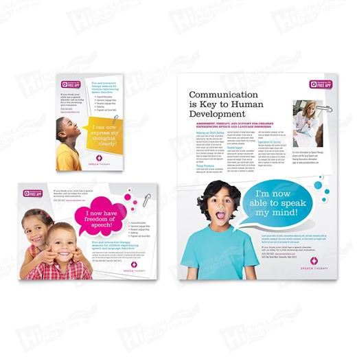 Speech Therapy Flyers Printing