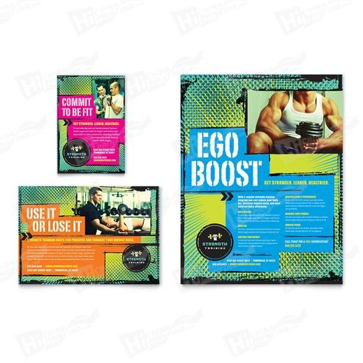 Strength Training Flyers Printing
