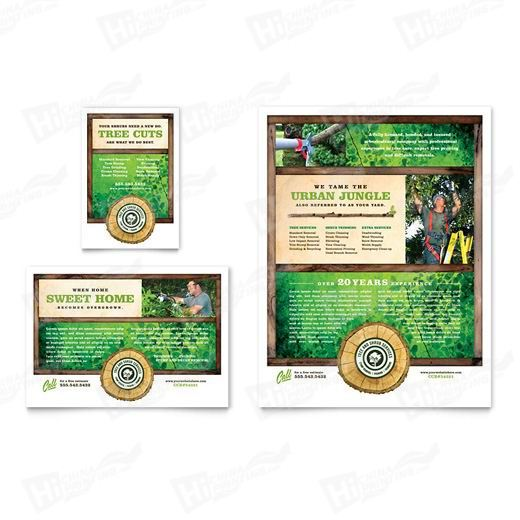 Tree Service Flyers Printing