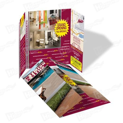 Tri-fold Fashion Flyer Printing