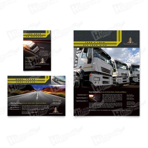 Trucking & Transport Flyers Printing