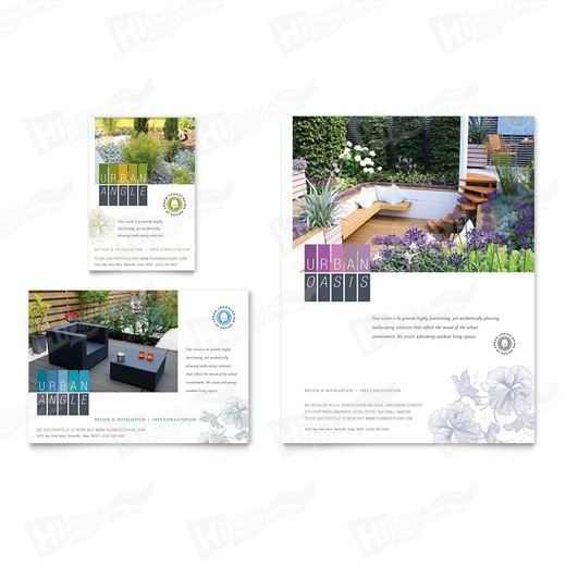 Urban Landscaping Flyers Printing