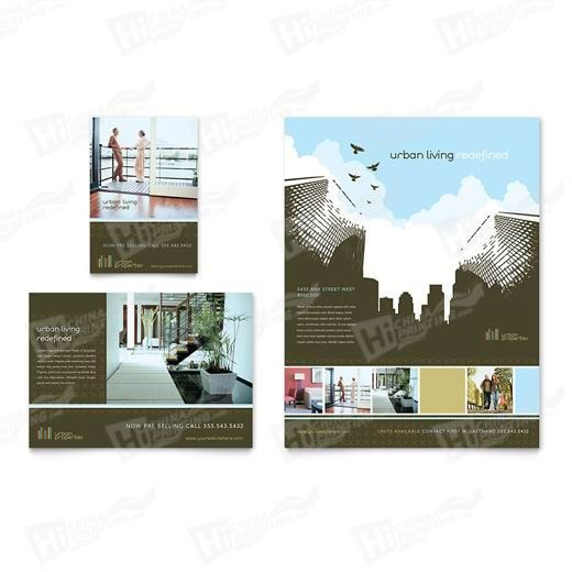 Urban Real Estate Flyers Printing