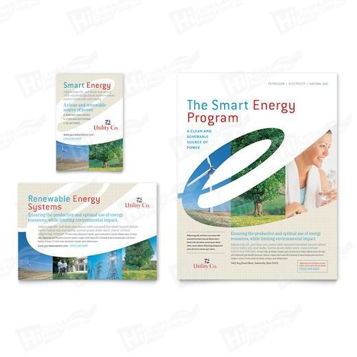 Utility & Energy Company Flyers Printing