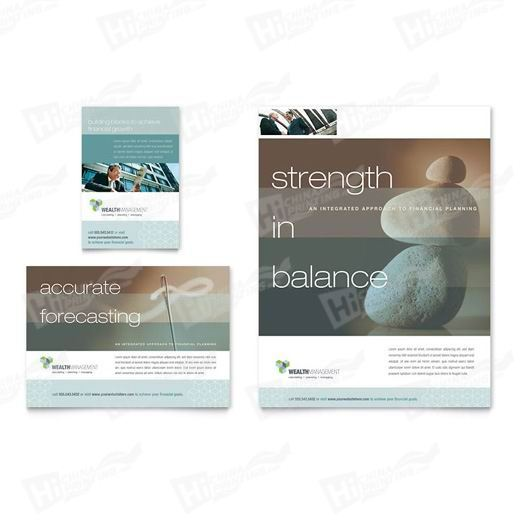 Wealth Management Services Flyers Printing