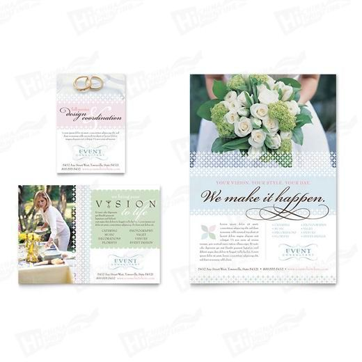 Wedding & Event Planning Flyers Printing