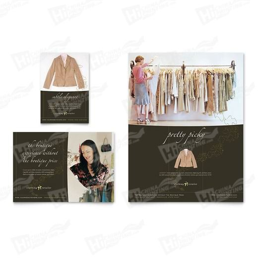 Women's Clothing Store Flyers Printing
