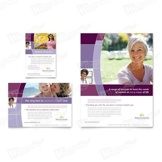 Women's Health Clinic Flyers Printing