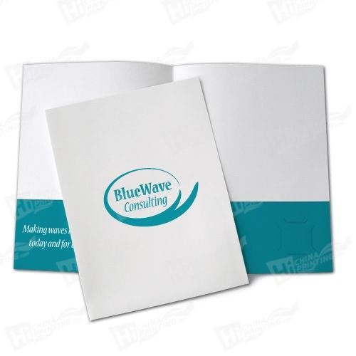1 Color Presentation Folders Printing