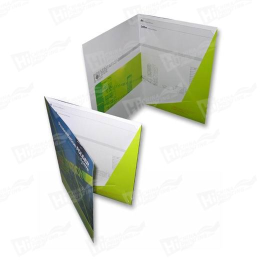 1 Sided Cello Presentation Folders Printing