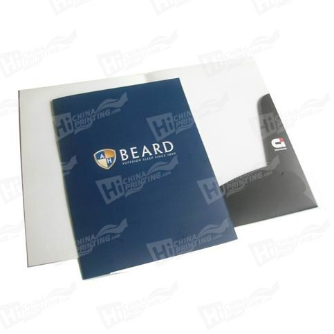 1 Sided Matt Presentation Folders Printing