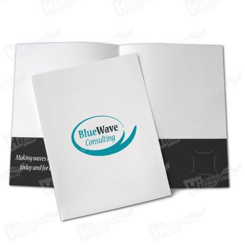 2 Color Presentation Folders Printing