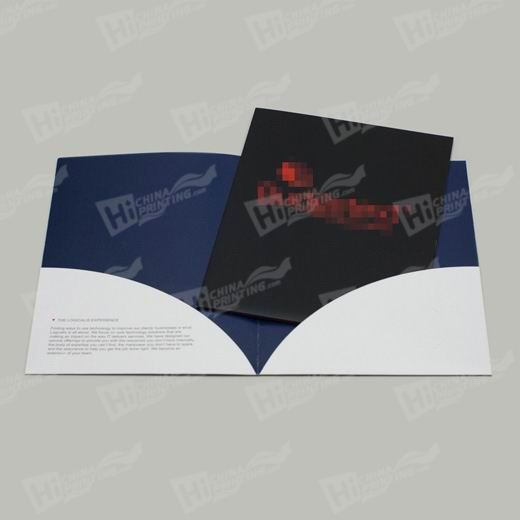 2 Sided Cello Presentation Folders Printing