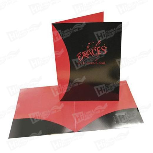 2 Sided Glossy Presentation Folders Printing