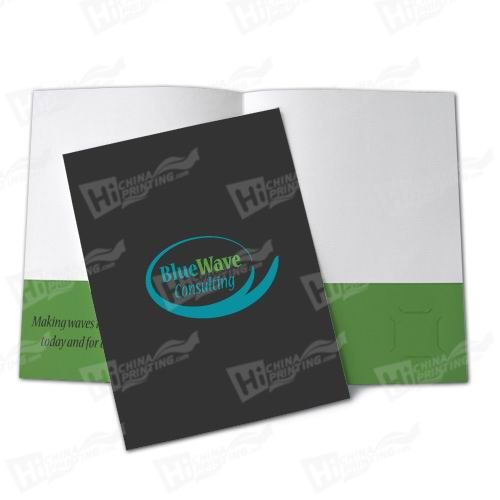 3 Color Presentation Folders Printing