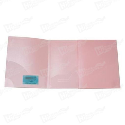 Baby Pink Two Pocket Folders