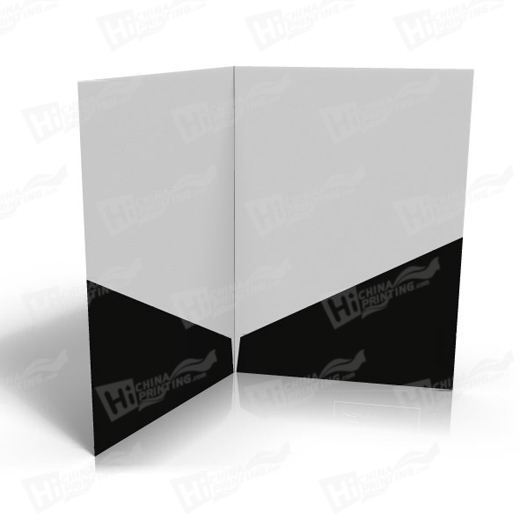 Diagonal Presentation Folders Printing