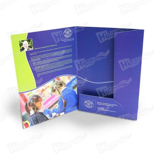 Full Color Presentation Folders Printing
