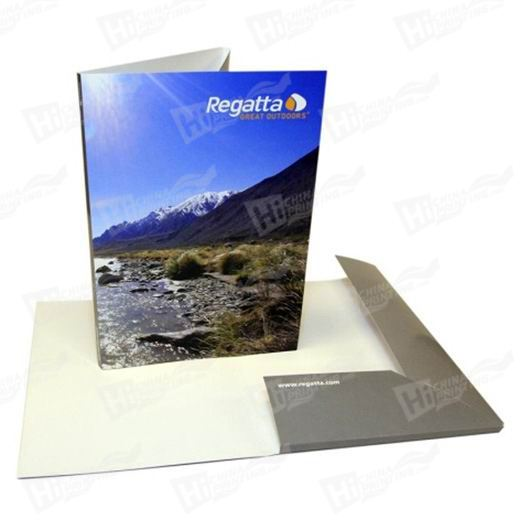 Glossy Laminated Presentation Folders Printing