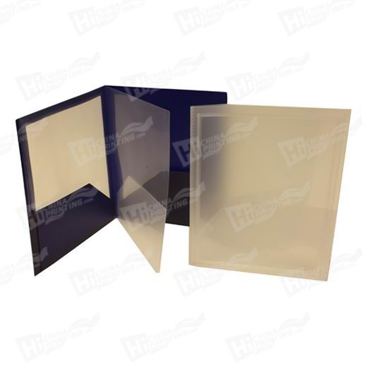 Heavy Duty 4 Pocket Folders with Display Covers