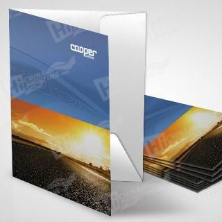 High Quality And Cheap Presentation Folders Printing