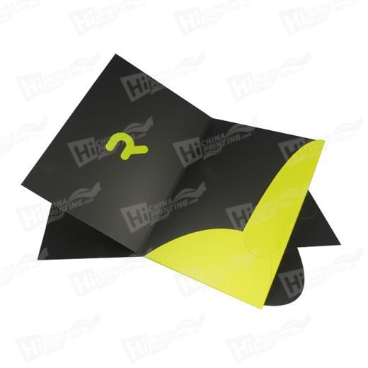 High Quality Colorful A4 Display Folders Printing