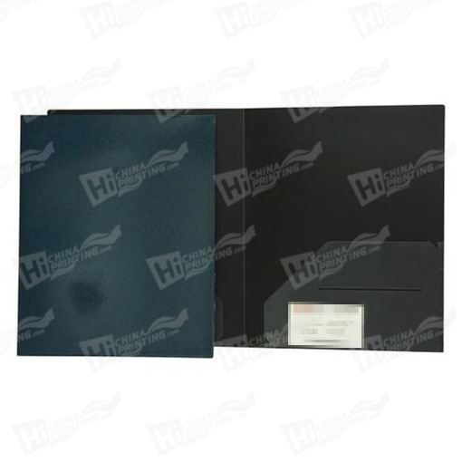 Metallic Heavy Duty Plastic Folders