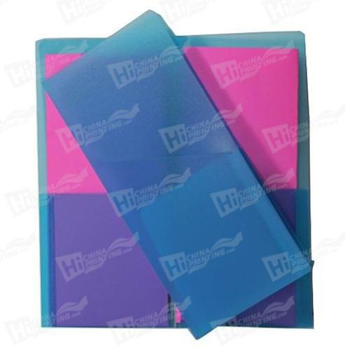 Mini Plastic Folders