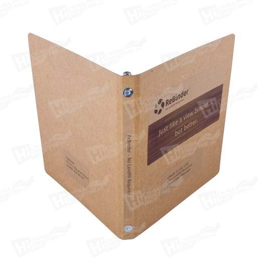 Recyclable Paper Advertising Folder Printing