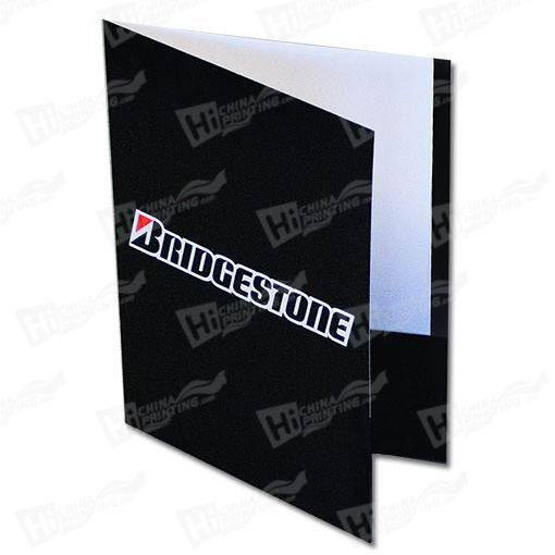 Side Reinforced Presentation Folders Printing