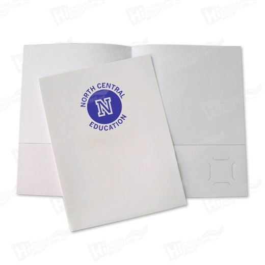 Single Color Standard Presentation Folders Printing