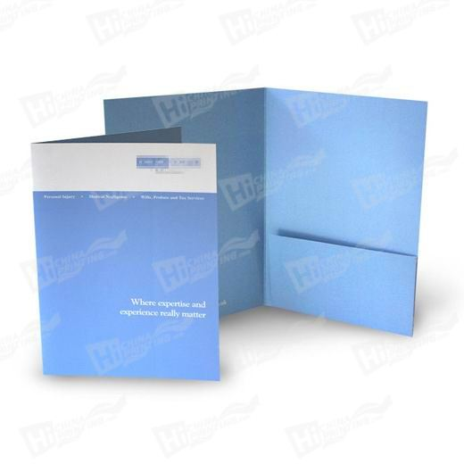 Square Style A5 Single Pocket Folders Printing