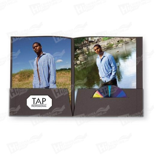 Tabbed Presentation Folders Printing