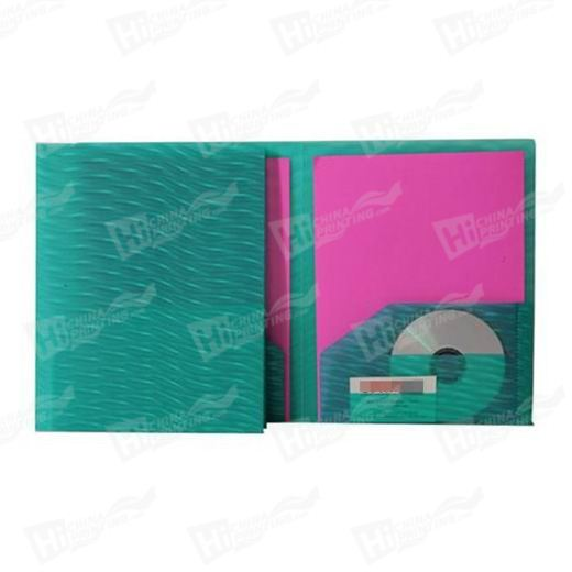 Two Sided Folders with CD pocket