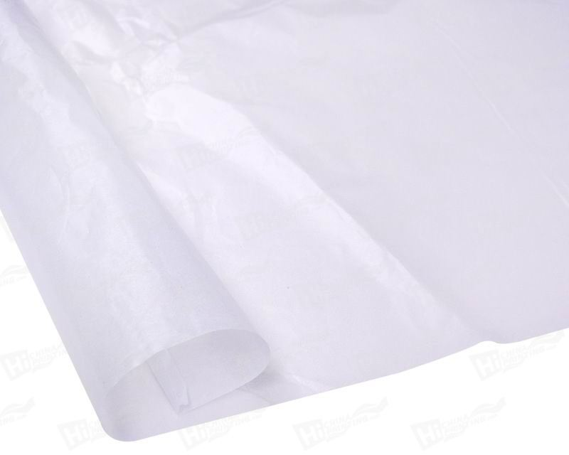 24g Semi-Tranparent Ultra White Wax Wrapping Paper