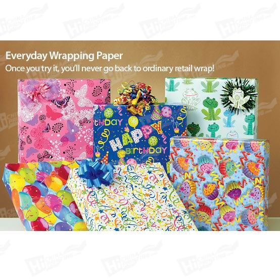Gift Wrapping Paper Printing
